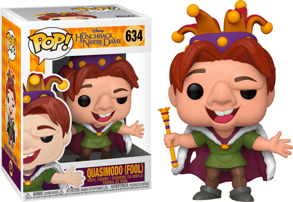 The Hunchback of Notre Dame - Quasimodo King Of Fools Pop! Vinyl