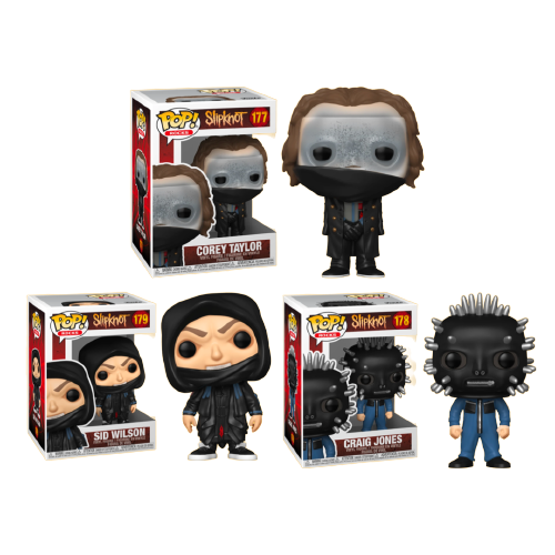 Slipknot - Pop! Vinyl Bundle