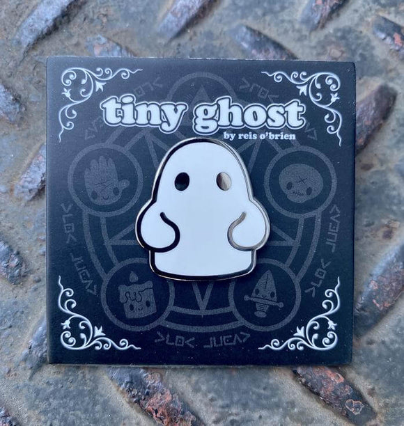 Tiny Ghost (OG) Enamel Pin