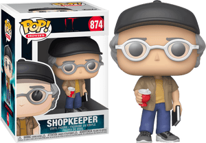 It: Chapter Two - Stephen King as Shopkeeper Pop! Vinyl