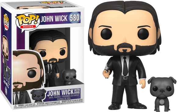 John Wick - John Wick with Dog Pop! Vinyl