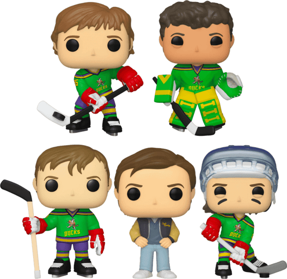 Mighty Ducks - Pop! Vinyl Bundle