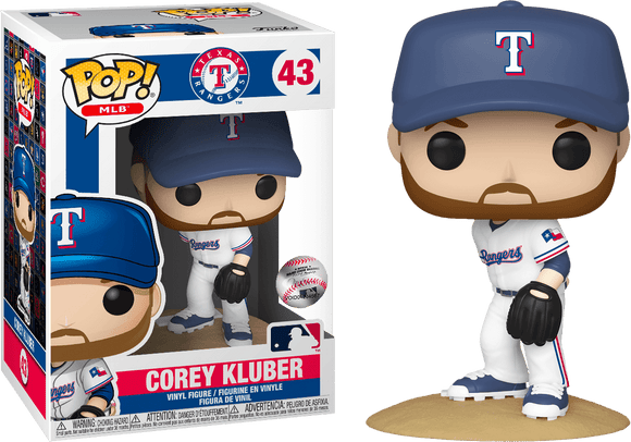 Major League Baseball: Rangers - Corey Kluber Pop! Vinyl