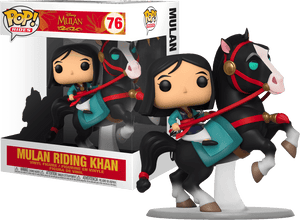 Mulan - Mulan with Khan Pop! Ride