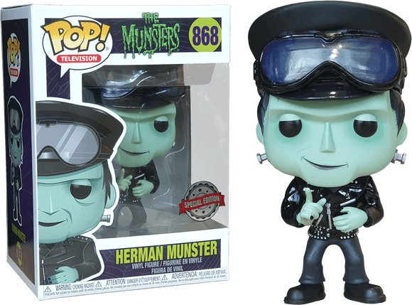 The Munsters - Hot Rod Herman Pop! Vinyl