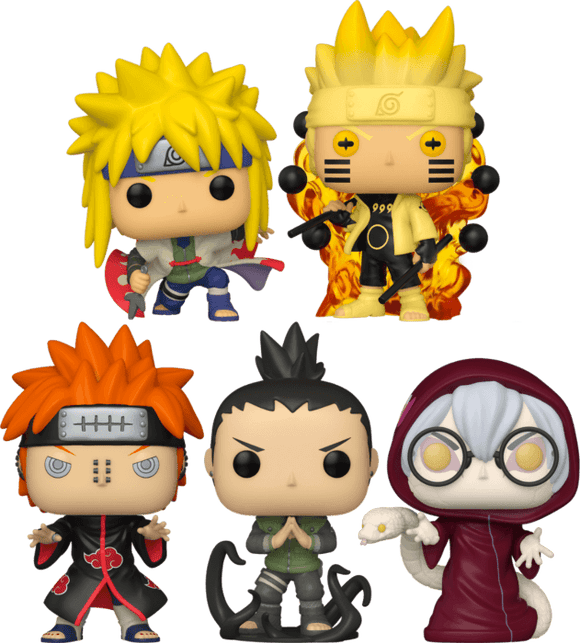 Naruto: Shippuden - Funko Fair Bundle