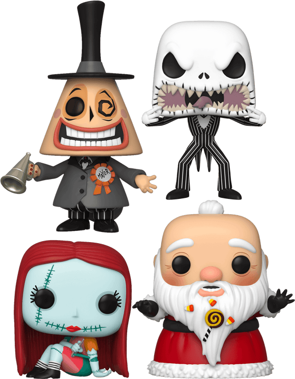 The Nightmare Before Christmas - Funkoween Pop! Vinyl Bundle