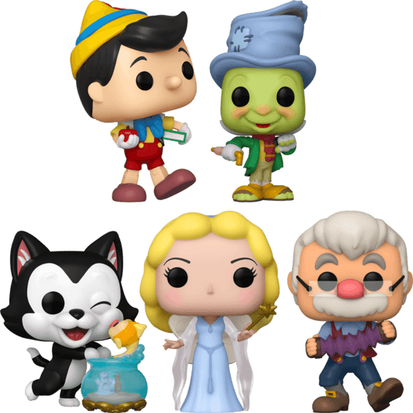 Pinocchio - 80th Anniversary Pop! Vinyl Bundle