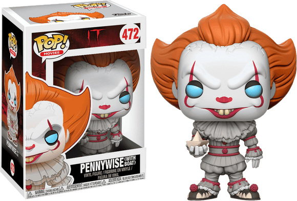 Prolectables - It (2017) - Pennywise (with Boat) Pop! Vinyl