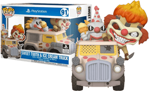 Prolectables - Twisted Metal - Sweet Tooth & Ice Cream Truck  Pop! Ride