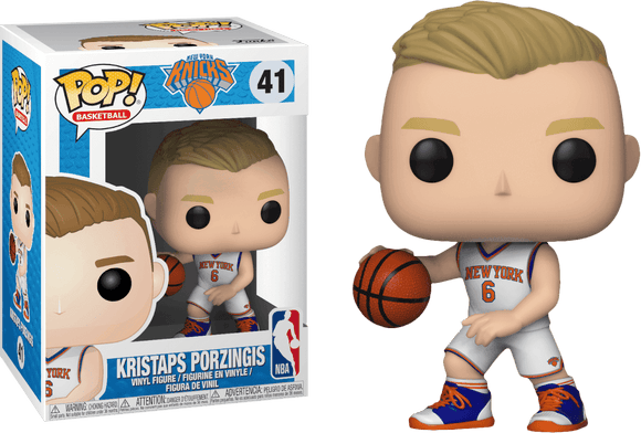 Prolectables - NBA: Knicks - Kristaps Porzingis Pop! Vinyl
