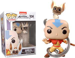 Prolectables - Avatar The Last Airbender - Aang with Momo Pop! Vinyl
