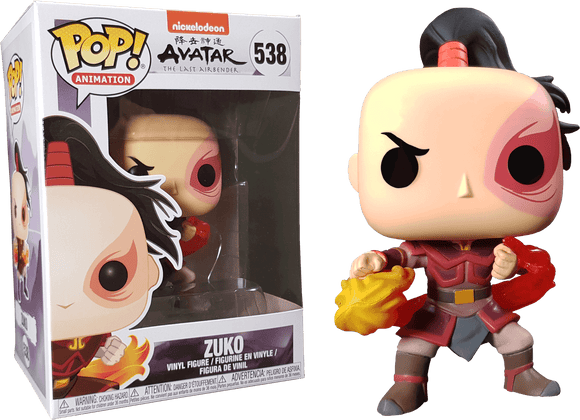 Prolectables - Avatar The Last Airbender - Zuko  Pop! Vinyl