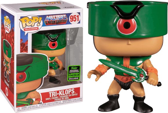Prolectables - Masters of the Universe - Tri-Klops ECCC 2020 Exclusive Pop! Vinyl