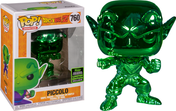 Prolectables - Dragon Ball Z - Piccolo Green Chrome ECCC 2020 Exclusive Pop! Vinyl