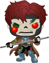 Prolectables - Marvel Zombies - Gambit Pop! Vinyl