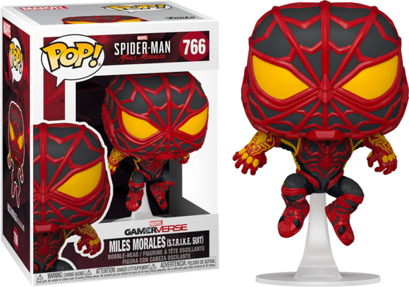 Prolectables - Marvel's Spider-Man: Miles Morales - S.T.R.I.K.E. Suit Pop! Vinyl