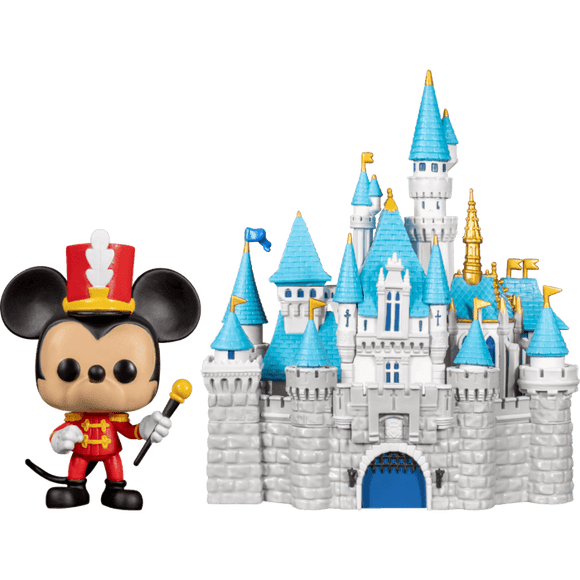 Prolectables - Disneyland 65th Anniversary - Mickey with Castle Pop! Town