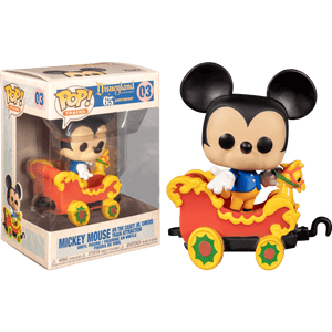 Prolectables - Disneyland 65th Anniversary - Mickey in Train Carriage Pop! Vinyl