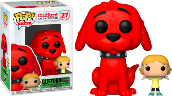 Prolectables - Clifford the Big Red Dog - Clifford with Emily Pop! Vinyl