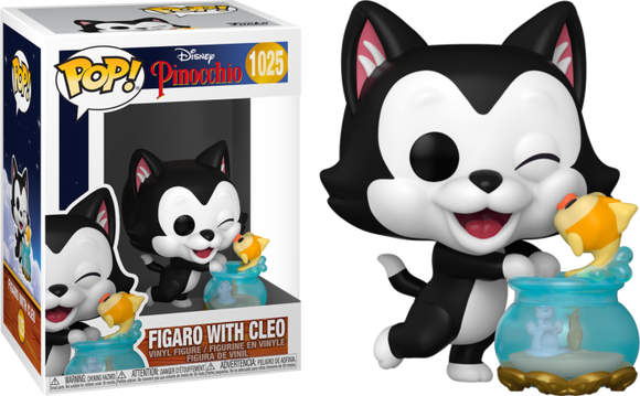 Prolectables - Pinocchio - Figaro Kissing Cleo 80th Anniversary Pop! Vinyl