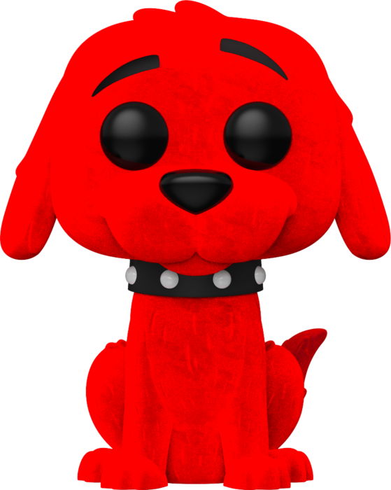 Prolectables - Clifford the Big Red Dog - Clifford Flocked Pop! Vinyl