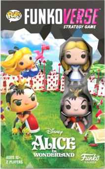 Prolectables - Funkoverse - Alice in Wonderland 2-pack Expandalone Game