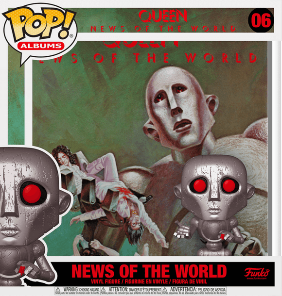 Prolectables - Queen - News of the World Metallic Pop! Album