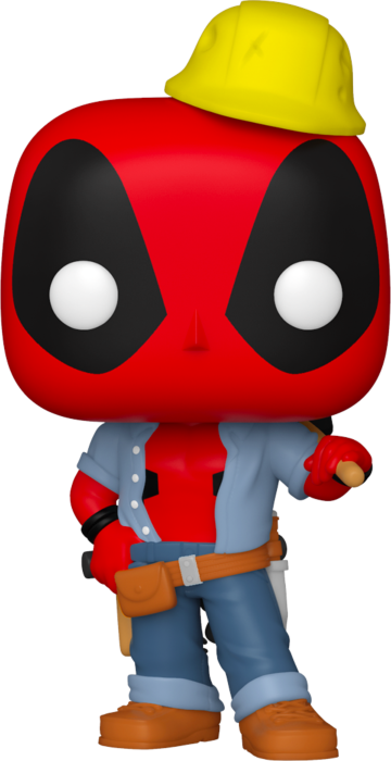 Prolectables - Deadpool - Construction Worker Deadpool 30th Anniversary Pop! Vinyl
