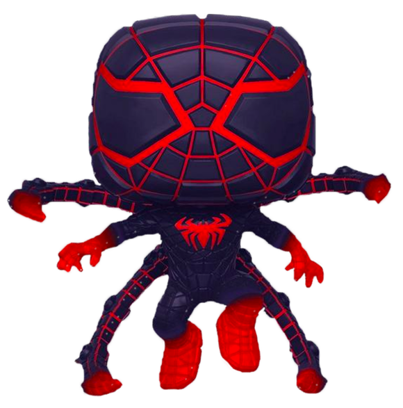 Prolectables - Marvel's Spider-Man: Miles Morales - Programmable Matter Pose Glow Pop! Vinyl