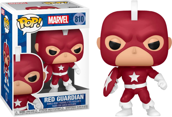 Prolectables - Marvel Comics - Red Guardian Year of the Shield Pop! Vinyl