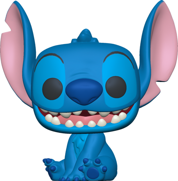 Prolectables - Lilo and Stitch - Stitch Smiling Seated Pop! Vinyl