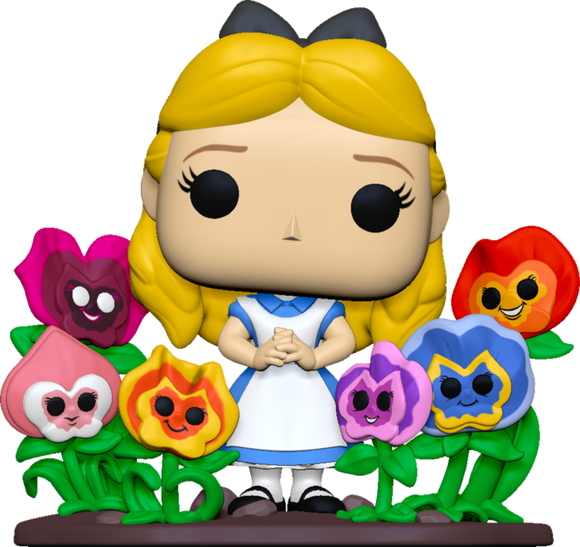 Prolectables - Alice in Wonderland - Alice Flowers 70th Anniversary Pop! Deluxe
