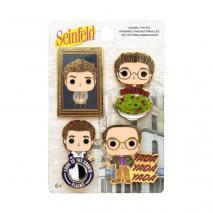 Prolectables - Seinfeld - Pop! Enamel Pin 4-pack