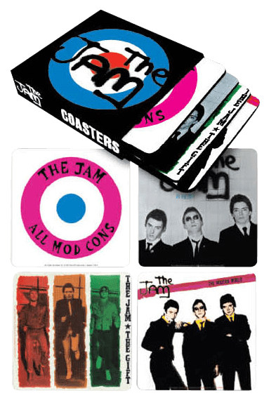 Prolectables - The Jam - Coasters Set of 4 In Sleeve