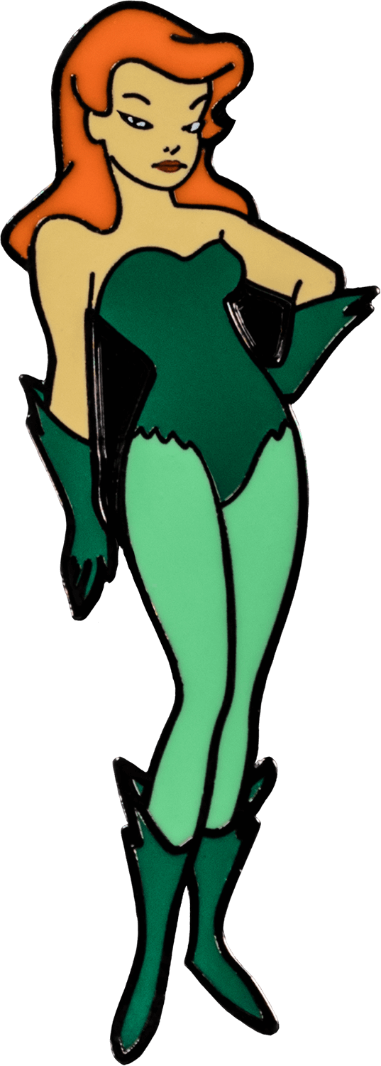 Prolectables - Batman: The Animated Series - Poison Ivy Enamel Pin