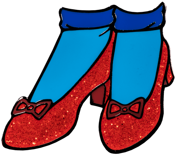 Prolectables - Wizard of Oz - Ruby Slippers Enamel Pin