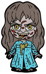 Prolectables - The Exorcist - Regan Chibi Enamel Pins