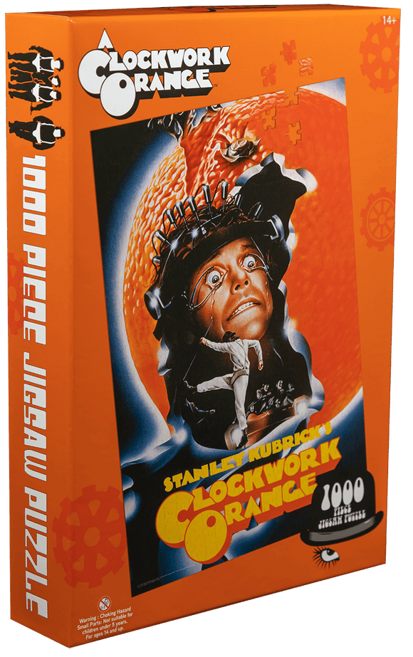 Prolectables - A Clockwork Orange - Kubrick Poster 1000 piece Jigsaw Puzzle