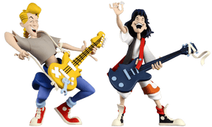 "Prolectables - Bill & Ted - Bill & Ted 6"" Toony Figure 2-pack"