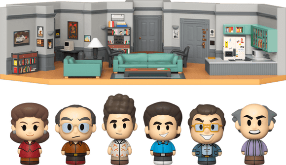 Seinfeld - Jerry's Apartment Diorama Bundle