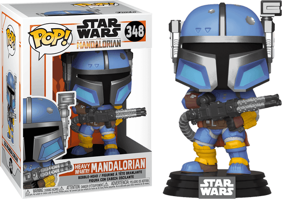 Star Wars: The Mandalorian - Heavy Infantry Metallic Pop! Vinyl