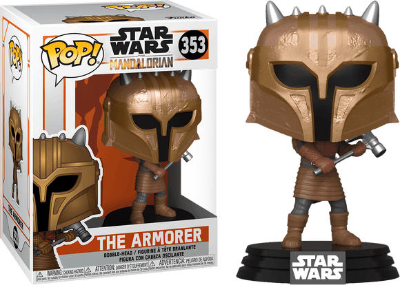 Star Wars: The Mandalorian - The Armorer Metallic Pop! Vinyl