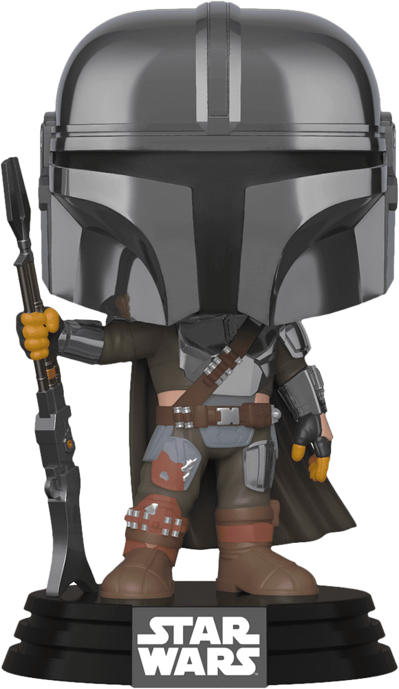 Star Wars: The Mandalorian - Mandalorian Chrome Pop! Vinyl