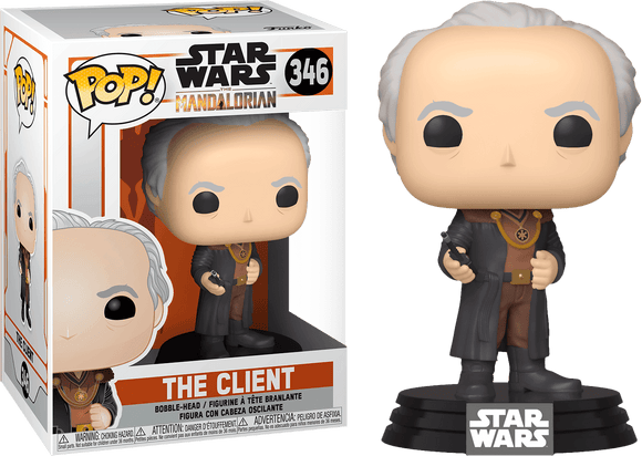 Star Wars: The Mandalorian - The Client Pop! Vinyl