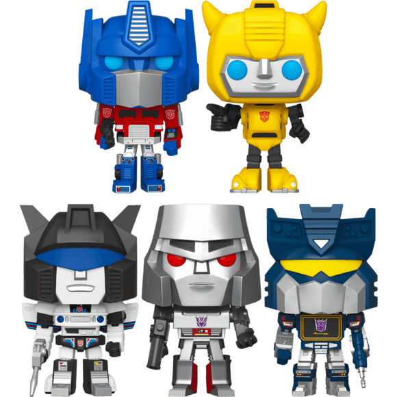 Transformers (1984) - Pop! Vinyl Bundle