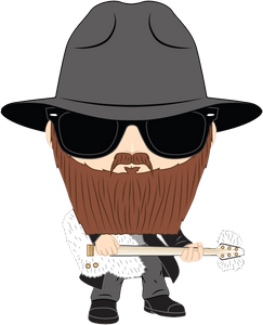 ZZ Top - Billy Gibbons Pop! Vinyl