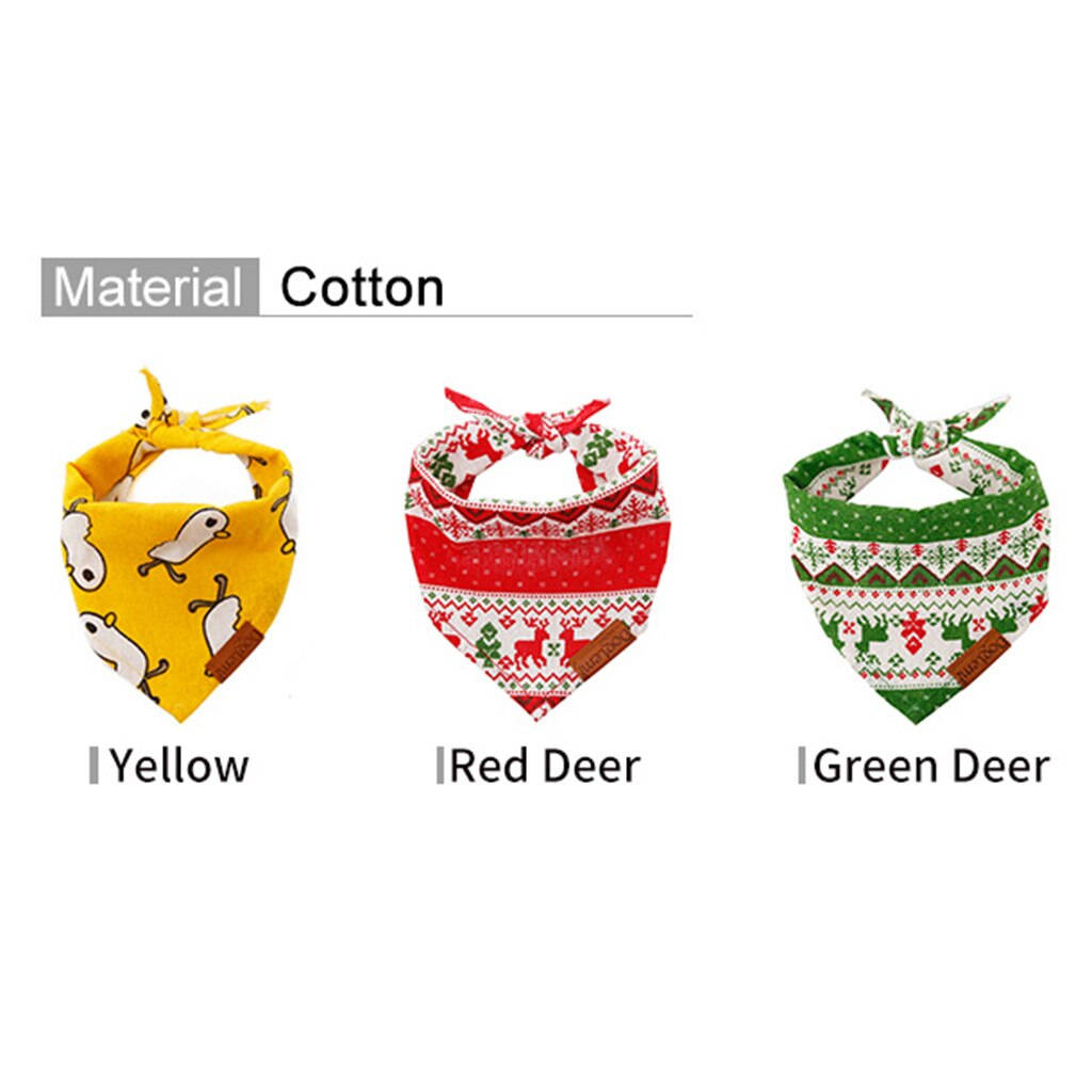 2019 Cat Dog Bandana Bibs Scarf Collar Adjustable Pet Neckerchief Scarf Waterproof Saliva Towel for Small Medium Large Dog#91460