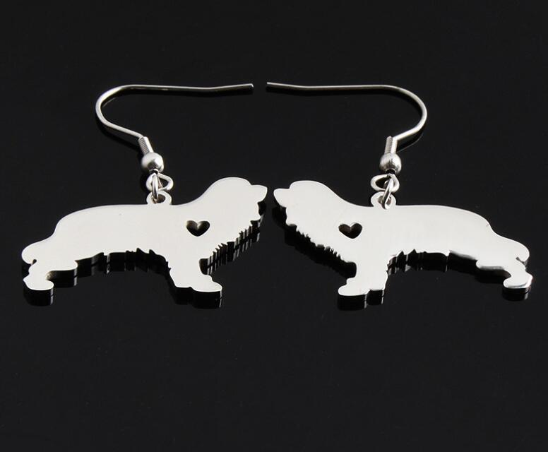 Handmade Spaniel Earrings