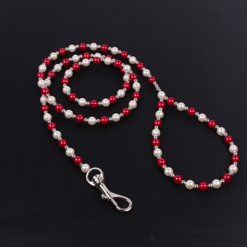Beaded Decorative Leash